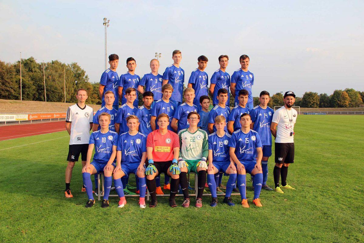 B-Junioren der JSG Hameln-Land 2018/2019