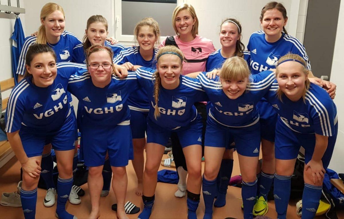 2. Frauen bei der Futsal Bezirksmeisterschaft 2019