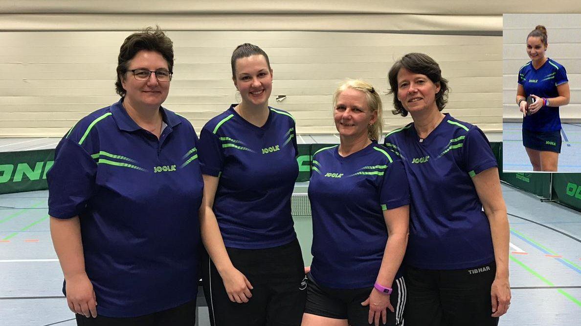 1. Tischtennis-Damen des HSC BW Tündern