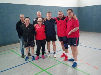Bezirksliga-Relegation der Tischtennisabteilugn 2018/2019